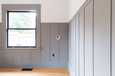 The Gold Hive One Room Challenge Pella Door and Farrow and Ball paint Mole's Breath-2.jpg
