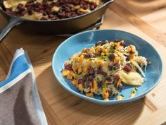 Get Deep-Dish Reuben Pierogies Recipe from Food Network