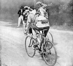 Lucien Petit Breton et Gustave Garigou Tour de France 1908