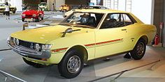 Toyota Celica 1600 ST - my first car in 1973 - i just loved it