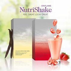 diet sehat nutrishake oriflame Nutrishake Oriflame, Oriflame Cosmetics, Sin Gluten, Diabetes, Nutrition Drinks, Malang, Vanilla Flavoring, Feeling Great, Strawberry