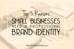 Every business weather big or small needs a brand Identity. A good brand is a powerful tool for small businesses.