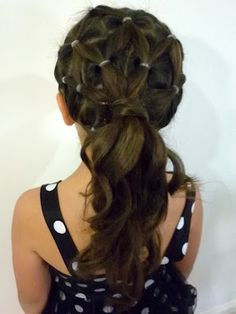 Cute Hairstyles For Girls Big Curly Hairstyles Curly - Hairstyle of girl for party