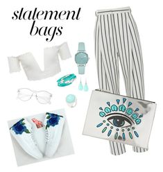"""🎫"" by mirka-smalova on Polyvore featuring TIBI, Kenzo, Kate Spade, Roberto Coin, Chrysalis, Rina Limor and statementbags"