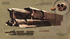 ArtStation - Royal Monorail, Andrey Lyapichev