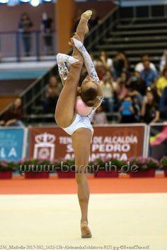 Alexandra SOLDATOVA (Russia)🇷🇺 ~ Ball @ Grand Prix Marbella-Spain🇪🇸  04/'17 ❤️❤️   Photo (c) 🇩🇪Bernd Thierolf.