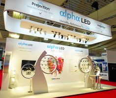 Alpha LED Exhibition Stand @ LuxLive 2012 - Sovereign Exhibitions