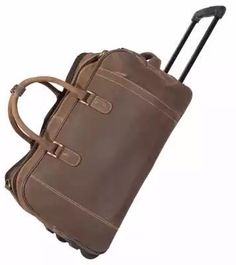 Res med stil med en weekend väska på hjul. Passar lika bra till en weekend med den kära som på affärsresan.