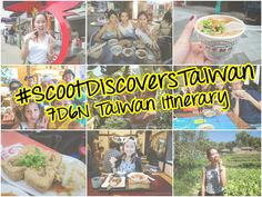 7D6N Travel Itinerary in Taiwan | Scooting Taiwan | Celine Chiam
