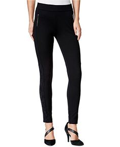 Looking for the perfect Bar Iii Women's Double Zip Suede-Inset Skinny Ponte Leggings (Xs, Deep Black)? Please click and view this most popular Bar Iii Women's Double Zip Suede-Inset Skinny Ponte Leggings (Xs, Deep Black). Women's Leggings, Leggings Are Not Pants, Women's Pants, Night Gown, Pants For Women, Black Jeans, Deep, Skinny