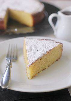 The Galley Gourmet: Sunday Dinner  - Fresh Ricotta Cake