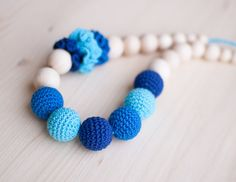 SALE 15% Nursing necklace / Teething necklace / by SvetlanaN