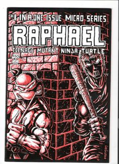 TEENAGE MUTANT NINJA TURTLES (v1) RAPHAEL ONE-SHOT GRADE 8.0 rare find! http://r.ebay.com/YlZDrZ