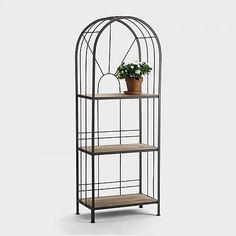 Terraces shelf steel, narrow 60x32x160 €169