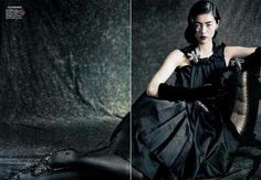 """The Look: Liu Wen Vogue China September 2010 """"Dream Away"""" editorial by Paolo Roversi."""