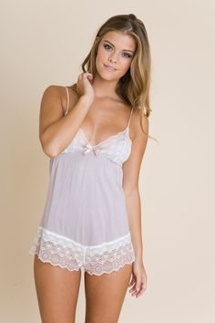 Nadine Teddy - cute! I need more pretty pj's!