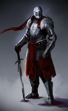 ArtStation - Knights duel, Gonçalo Sousa