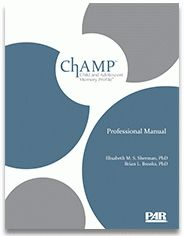 Meet the #authors of our newest memory assessment, the #ChAMP.  #parblog #memory #child #adolescent