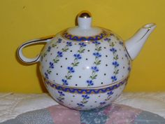 Vintage English Teapot and Cup by TrueColorsBoutique on Etsy, $50.00
