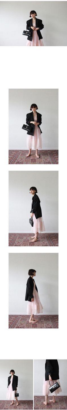 muse linen oversize jacket(beige,black!)