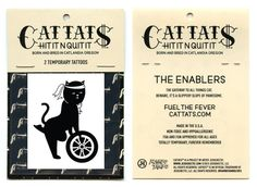 Cattats Sexy Cat Temporary Cat themed Tattoos I Cat tats Cattats.com
