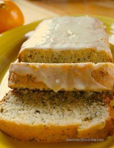 Vegan Orange Poppyseed Pound Cake | The Sweet Life