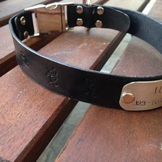 Shadowhunter dog collar!