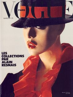Vogue Paris, March 1978. A mannequin substituted for a flesh-and-blood model, photographed by Helmut Newton (who else?).