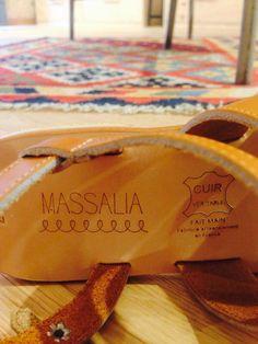 Massalia sandales madeinFrance fabriquées artisanalement