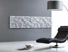 Pannello decorativo a parete / MDF / in laminato / a rilievo WAVE FOAM Planoffice