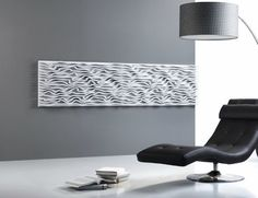 Pannello decorativo a parete / MDF / in laminato / a rilievo WAVE FOAM Planoffice