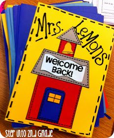 Step into 2nd Grade with Mrs. Lemons: First Week Plans!