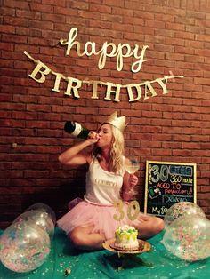 30th Birthday smash cake and booze photo shoot. Drinking my 20s away.