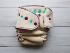 Lilly&Frank-Fitted Cloth Diapers-Hybrid Cloth Diapers-Organic-Sustainable-Made In Canada-one size Cloth Diapers-Sloomb-Bee Green Naturals-Unicorn Baby-diaper Fitted Cloth Diapers, Coin Purse, Coin Purses