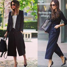 #pantalón #culotte: los pantalones que están de moda entre las celebrities y fashionistas. Una prenda versátil tanto como para el día como para la noche www.imodae.com #imodaediccionario #fashion #streetstyle #style #imodae #december