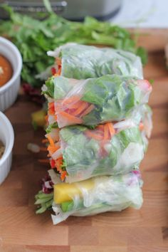 Entertaining with Asian Spring Rolls - Hip Foodie Mom