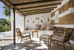 Bohemian Patio and Deck in Comporta, PT by Suduca & Mérillou