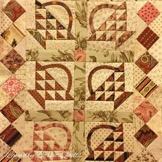 Mini Handfuls of Scraps quilt by Edyta xox