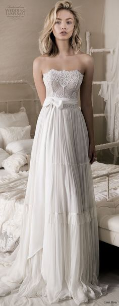 Various Sizes La Perla Skyline Amour Bridal Ivory Strapless Bra
