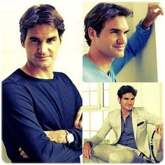 He is georgeos!!!! Roger Federer