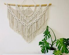 Macrame Wall Hanging in different sizes, Boho Woven Wall Hanging, Tapestry Wall Hanging, Macrame Headboard, Gift for Mom Weaving Wall Hanging, Large Macrame Wall Hanging, Tapestry Wall Hanging, Wall Hangings, Bohemian Decor, Bohemian Room, Bohemian Living, Boho Wedding Decorations, Wedding Ideas