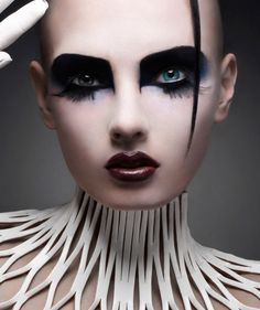 -#makeup #spadelic #editorial @Crystal Rush