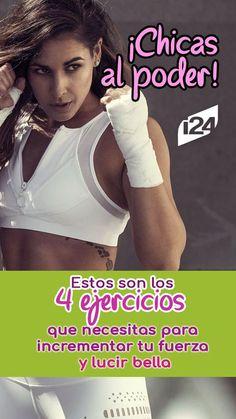 La fuerza en una mujer representa belleza y seguridad, conoce estos 4 ejercicios que te harán lucir perfecta #Sport #Salud #Bienestar #Rutina #Ejercicios #Deporte #Exterior #Dieta #Sentadillas #Entrenamiento #Entrenar #Ejercicios #Fuerza #Entrenar