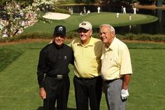 Player, Nicklaus and Palmer, The Big Three at Augusta National