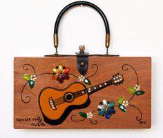 Enid Collins Music City U.S.A. box bag