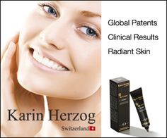 Karen Herzog - provider of oxygen-infused skincare products from Switzerland