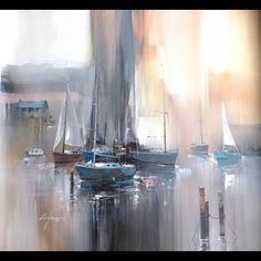 Peinture de bateau - AUTOUR D'UN CADRE - Encadrement - Peinture - Restauration
