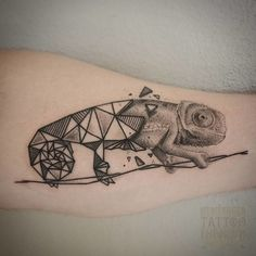 tatuagem pontilhismo de camaleão E Tattoo, Body Art Tattoos, Tatoos, Astronomy Tattoo, Lizard Tattoo, Star Wars Pictures, Animal Tattoos, Geometric Art, Tattoo Designs