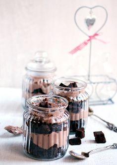 ... brownie parfait ...