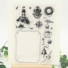 Tavigation Transparent Clear Silicone Stamps for DIY Scrapbooking/Card Making/Kids Christmas Fun Decoration Supplies